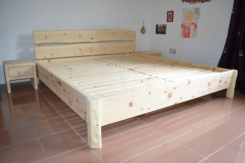 Zirbenholzbett Modell Mondsee