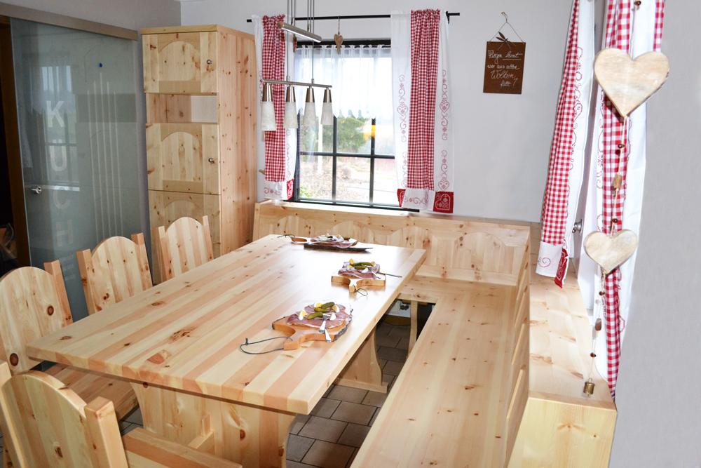 Zirbenzolz Massivholz Esszimmer vom Holz Sigi