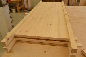 Zirbenholz Schreinerei Holz Sigi Produktion Bearbeitung Bauteil Fertigstellung
