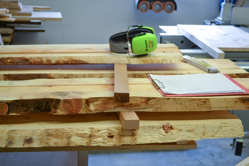Zirbenholz Schreinerei Holz Sigi Produktion Rohmaterial