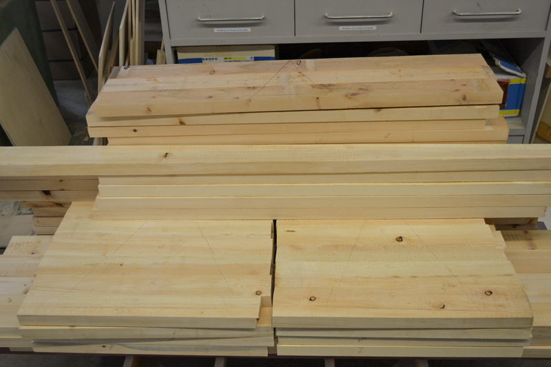 Zirbenholz Schreinerei Holz Sigi Produktion Bretter teilbearbeitet