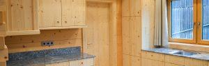 Küche aus Zirbe Zirbenholz Zirbenschreinerei