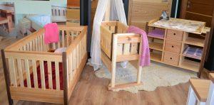 Kinderzimmer Schreinermöbell Zirbe